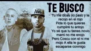 Te Busco   Cosculluela Feat  Nicky Jam (letra)