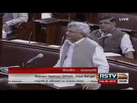 Sh. Sitaram Yechury's speech in the discussion on the Motion of Thanks on President's Address