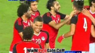 الهدف الثانى مصر فى توجو - احمد الشيخ