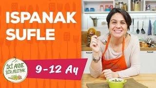 Bebekler İçin Ispanak Yemeği - Ispanak Sufle (9+ Ay) | İki Anne Bir Mutfak