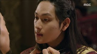 [The King in Love]왕은 사랑한다ep.23,24Si-wan·Bo-seok's frontal confrontation, blackening's frontier ?!