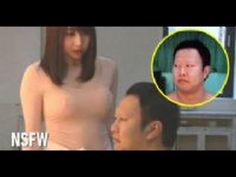 This Japanese Experiment Tests How Men Will React When They See A Girls Poking Nipples (NSFW)