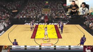 NBA 2K 1v1 vs FaZe Rug (FACECAM)