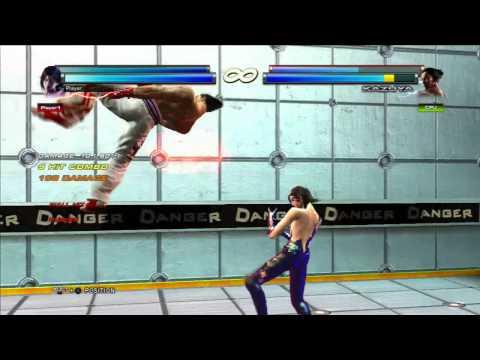 Tekken Tag Tournament 2 Jun/Unknown - Tag Crash Combo