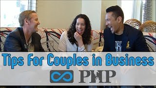 Advice for Couples in Business | PHP Agency Power Couple