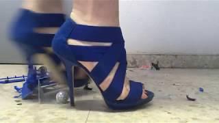 bus crush  zara sandals