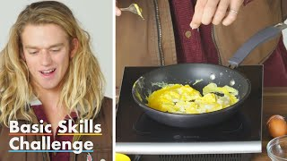 50 People Try to Make Scrambled Eggs | Epicurious
