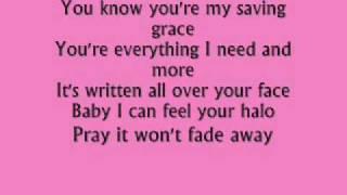 beyonce-halo lyrics
