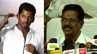 We Will Not Co-Operate For Actor Vishal's Movies - Producer Council Ferocious Angry Statement Statem