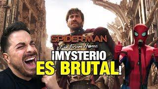 ¡MYSTERIO ES BRUTAL! Primer tráiler de Spider-Man: Far From Home