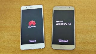 Huawei P9 Lite vs Samsung Galaxy S7 - Speed Test! (4K)