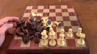 Review: Kidami Folding Magnetic Chess Set
