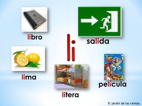 5 Sílabas la le li lo lu Syllables with L