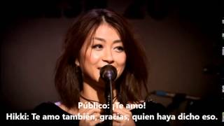 Hikaru Utadacrying Like A Child Live  In The Flesh 2010 Sub Espaol