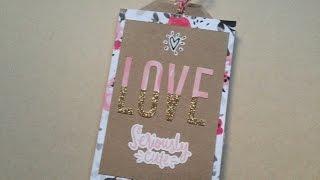 Mini album San Valentín regalo para sanvalentin fácil