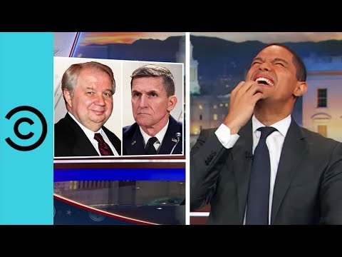 General Flynn Gets The Boot The Daily Show Comedy Central