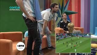 Argentina vs Croatia 0-3 Goals & Fans Reactions  2018 FIFA World Cup Russia