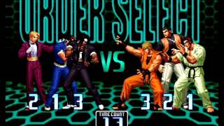 The King of Fighters 2002 (PlayStation 2) Arcade as '02 Special Team