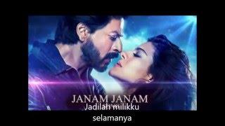Janam-janam / Shah Rukh Khan/Kajol/ Lirik/ Malay