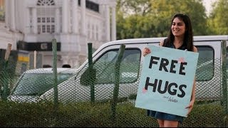 A Cute Girl & Free Hugs | Mind-Blowing Reactions in India