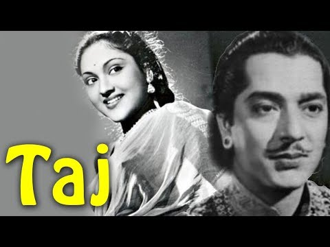 Taj (1956) Hindi Full Movie | Pradeep Kumar, Vyjayanthimala | Hindi Classic Movies