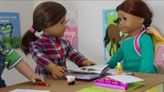 WHAT A DAY! (American Girl Doll Stopmotion)