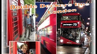 🇬🇧  Double Decker Bus - London - England - UK