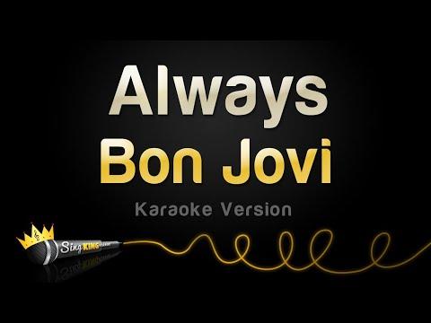 Bon Jovi - Always (Karaoke Version)