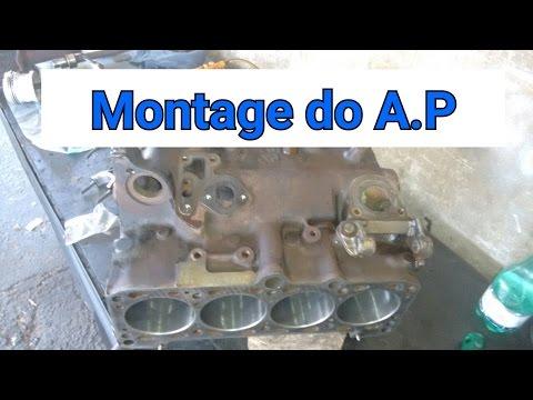motor AP 1.6 montagem passo a passo 1Parte