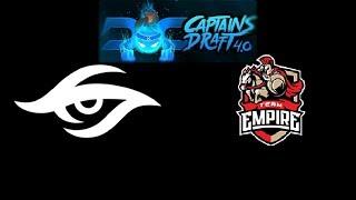 Secret vs Empire Captain's Draft 4 Highlights Dota 2