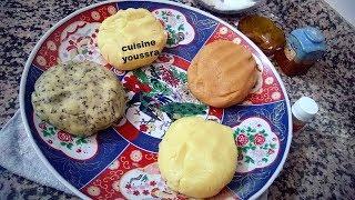 مازال ماوجدتيش حلويات العيد جبتلك أربع أشكال بعجينة واحدة و نكهات مختلفة وحدة تنسيك في الأخرى