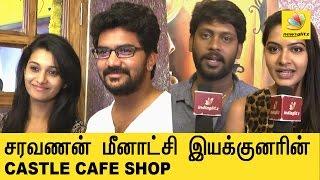 Saravanan Meenatchi director opens a Coffee Shop | Castle Cafe