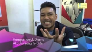 MeleTOP YouTube Eksklusif: Fikhree Bakar Sembang Drama Akadku Yang Terakhir Ep 182 [26.4.2016]