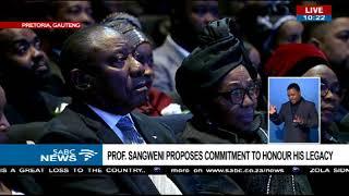 Prof Stan Sangweni pays tribute to Zola Skweyiya