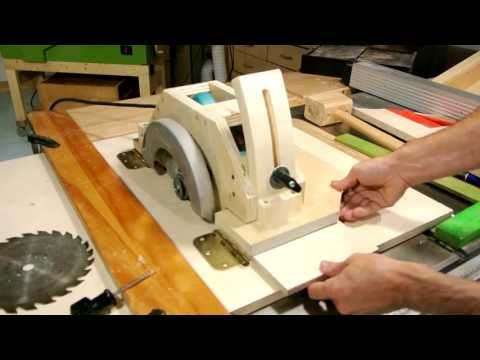Homemade table saw part 1