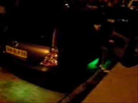 Neon undercar Clio 1.5 dci tuning