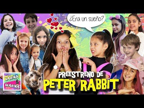 Xxx Mp4 ¡¡EL SUEÑO De Karina PreESTRENO De PETER RABBIT 🐰 Con The CRAZY HAACKS CLODETT 3gp Sex