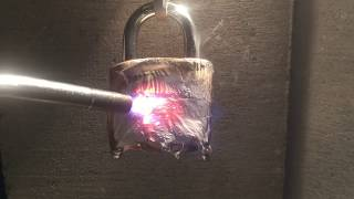How To Open A Lock Without A Key - Melt It