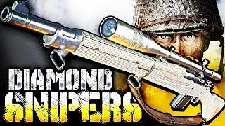 WW2: DIAMOND SNIPERS UNLOCKED! (ROAD TO CHROME CAMO)