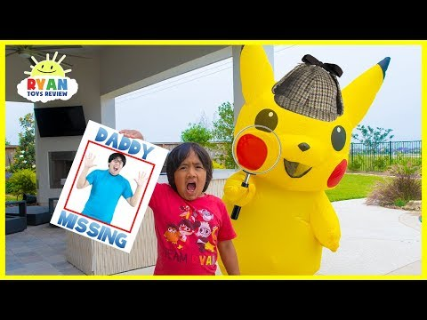 Pokemon Detective Pickachu and Ryan finds Daddy