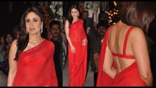 Kareena Kapoor's Transparent Saree You'll Love It!