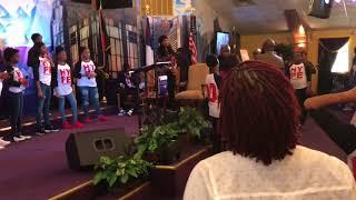 Crazy Praise Break at The Harvest Tabernacle Church!!! 3/18/18