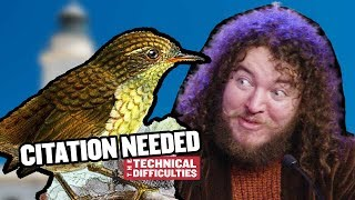 Stephens Island Wren and the Cobra Effect: Citation Needed 6x03