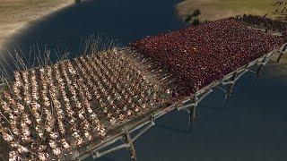 300 SPARTANS vs 6000 PRAETORIAN GUARDS (Best Roman Unit) - Total War: ROME 2