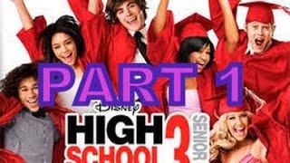 High School Musical 3: Senior Year DS Walkthrough Part 1