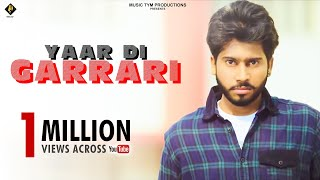 Yaar Di Garrari | Full Song | Seffy D |  Desi Crew | New Punjabi Songs 2017 | Harry Bhatti