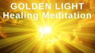 HEAL While You SLEEP ★ Golden Light Healing Meditation