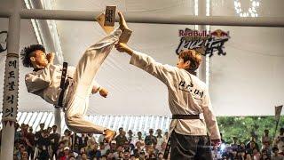 Elite Kicking Battles in Seoul - Red Bull Kick It 2015