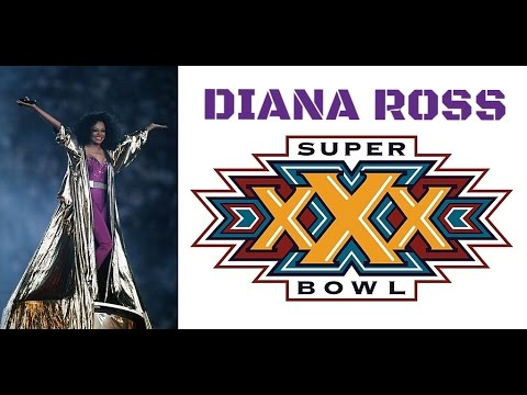 Diana Ross - Half Time Show At Super Bowl XXX 1996