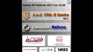 Asd Città di Mestre vs Canottieri Belluno: 2 - 5